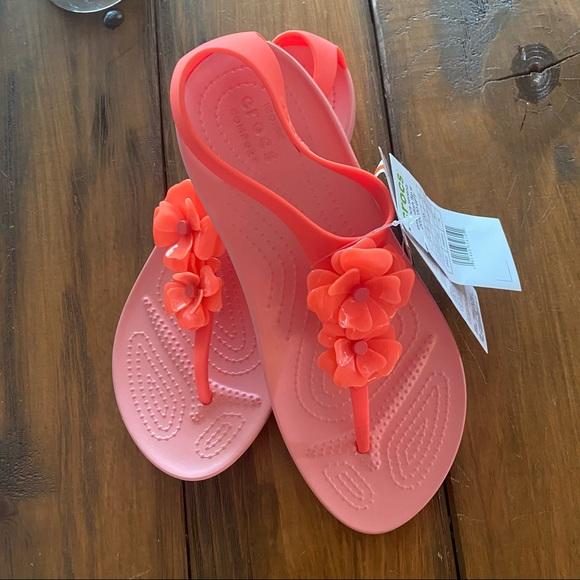 Crocs Serena embellished sandals